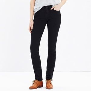 Madewell Alley Straight Black jeans